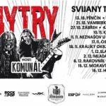 Dymytry vyráží na podzimní Svijany tour 2017!