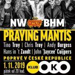 Událost podzimní klubové scény: Praying Mantis v OKU!